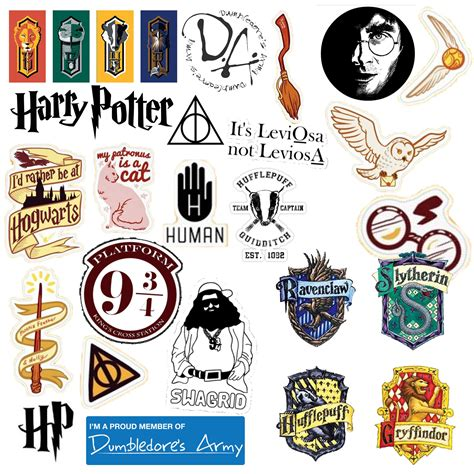 Harry Potter Stickers harry potter sticker design craft on carousell