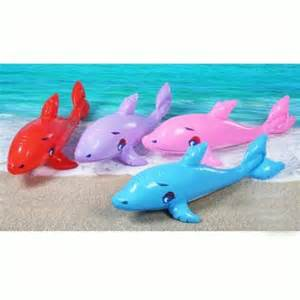 Child dolphin inflatable random color beach water swimming pool games