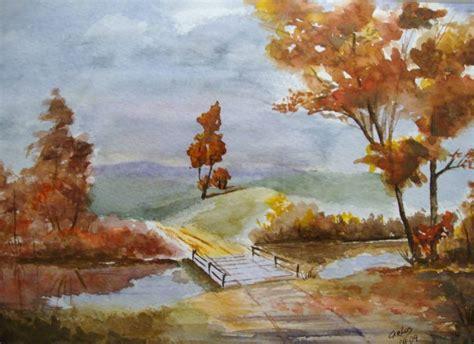 imagenes de paisajes en acuarela paisajes en acuarela