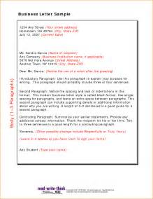 Official Letter In Model A Friendly Letter Format Basic Appication Letter