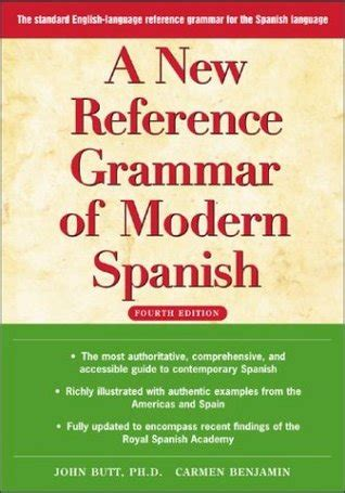 libro a new reference grammar a new reference grammar of modern spanish 4th edition by john reviews discussion