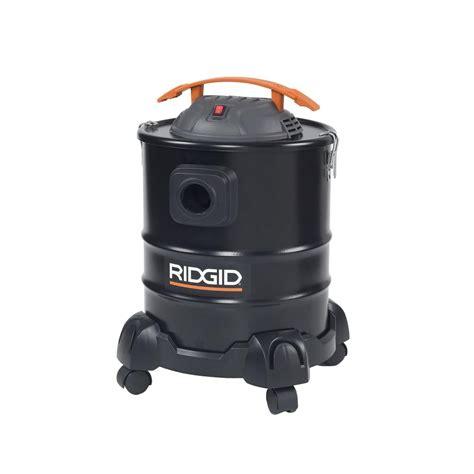 ridgid 3 gal 3 5 peak hp portable pro vac wd3050