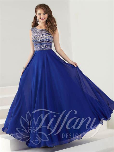 design prom dress tiffany designs 16184 prom dress prom gown 16184