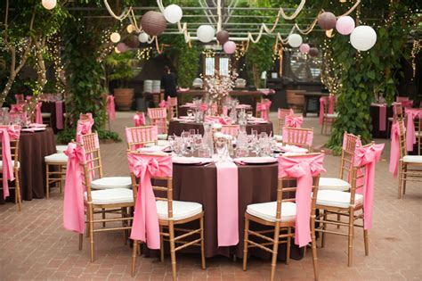 pink and brown japanese cherry blossom themed wedding fab you bliss