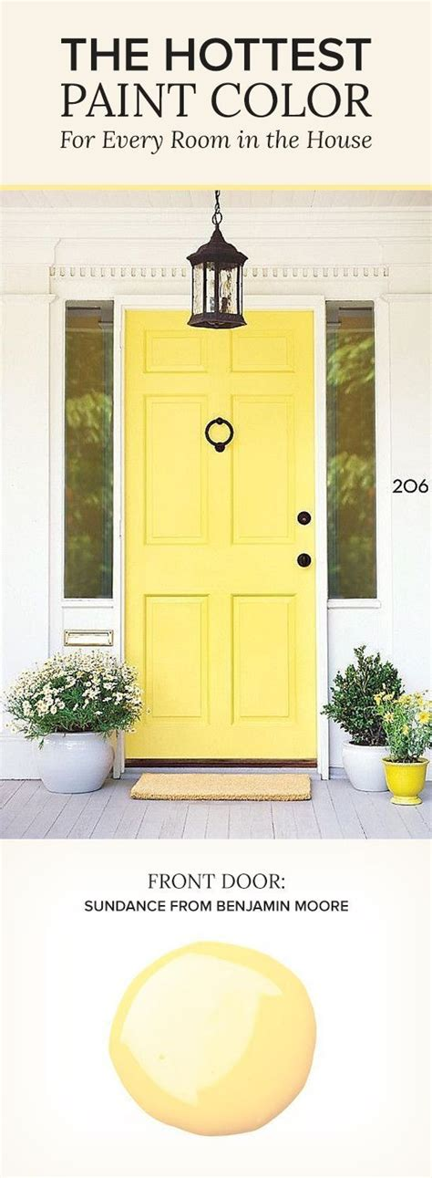 benjamin moore sundance 17 best images about front doors on pinterest yellow