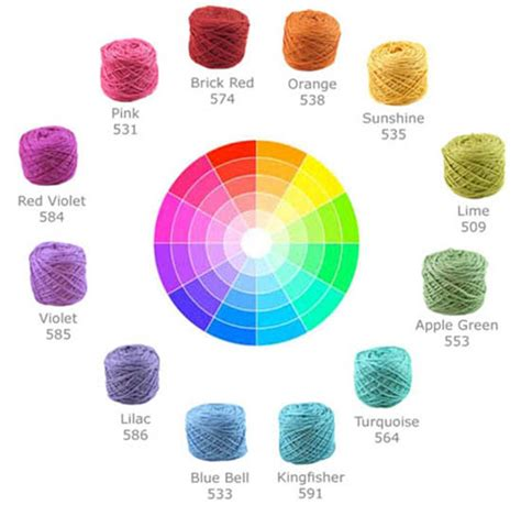 colors that work well together selecting yarn colors for stripes using color theory