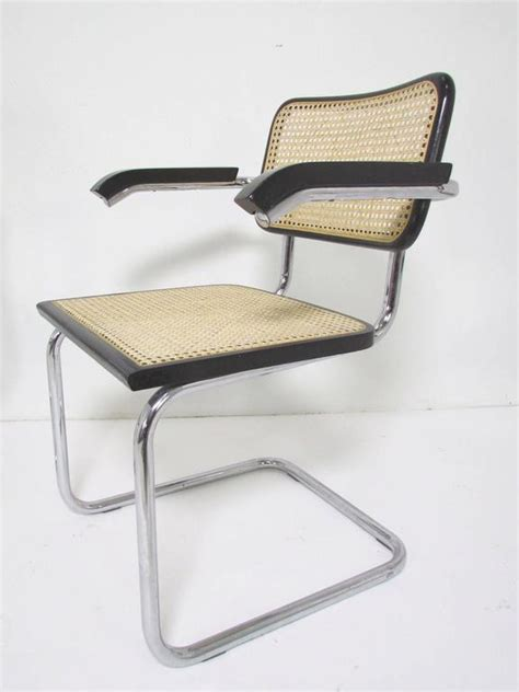 breuer cesca chair made in italy set of six marcel breuer cesca chairs made in italy at