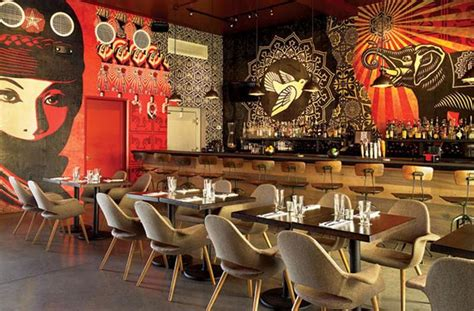 restaurant wall murals american restaurants miami
