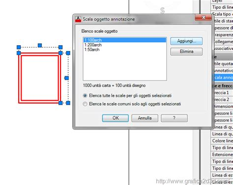 tutorial autocad 2010 le quote annotative le quote annotative in autocad