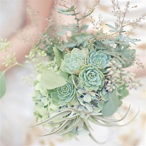 Wedding Bouquet Mint Green by Green Wedding Succulent Green Wedding Bouquet 2064169