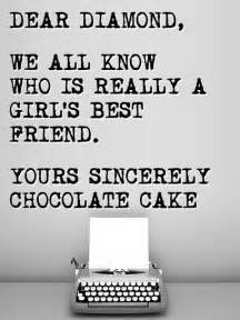 dear diamond a s best friend chocolate cake smiley face pinterest chocolate