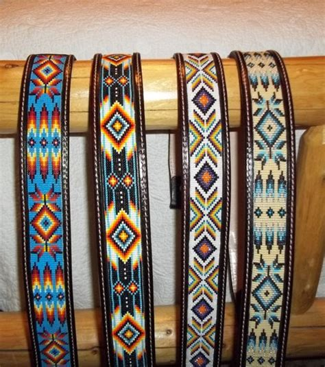 how to make beaded belts custom made leather belts with beaded insert