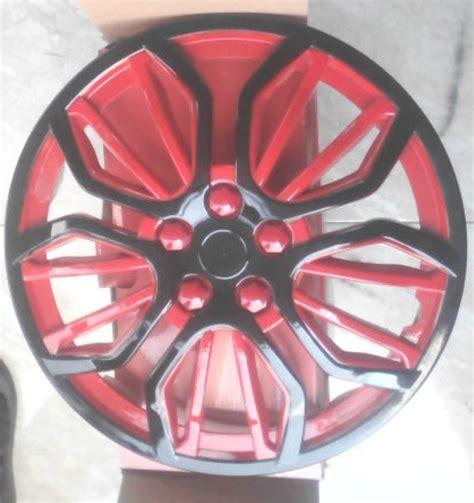 jual tutup velg wheel dop ring 13 warna merah hitam