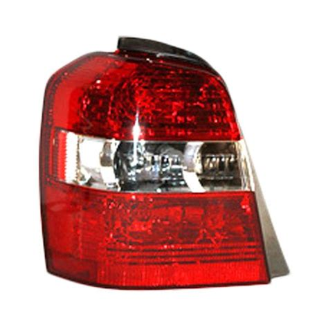 2004 toyota highlander tail light assembly tyc 174 toyota highlander 2004 replacement tail light