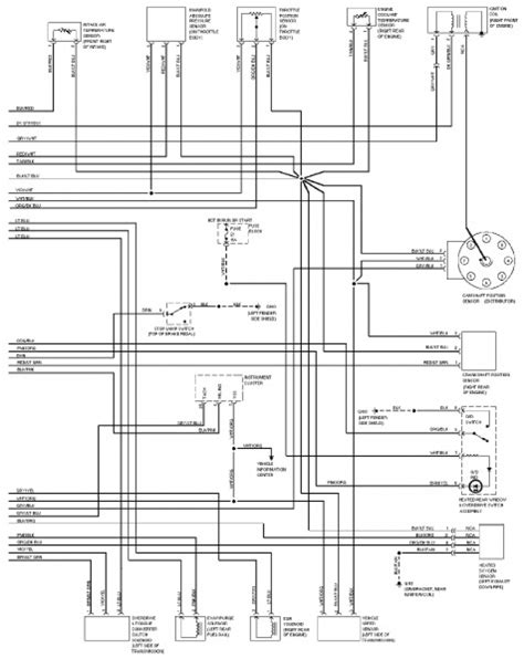 1997 jeep grand electrical wiring diagram