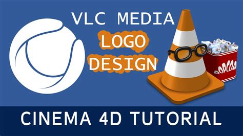 tutorial logo cinema 4d vlc media logo cinema 4d tutorial youtube