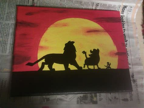 acrylic painting king king canvas things i ve made