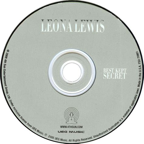 best kept secret leona lewis car 225 tula cd de leona lewis best kept secret portada