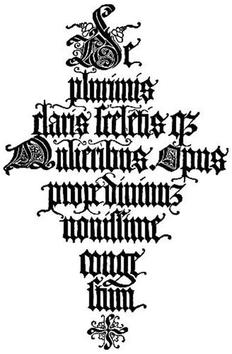 lettere gotiche antiche 147 italian blackletter title page jacopus foresti 1497