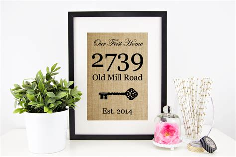 new house gift house warming gift new home housewarming gift our first