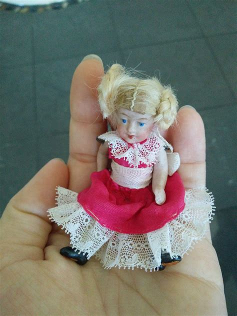 tiny bisque doll tiny german all bisque doll the precious antique dolls