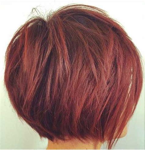 red layered bob hairstyle short layered bob cuts bob hairstyles 2017 short