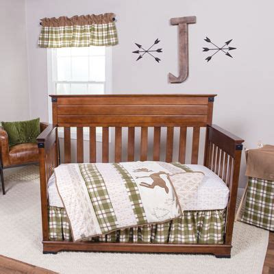Trend Lab 174 Deer Lodge 3 Pc Crib Bedding Set Jcpenney Jcpenney Baby Bedding Sets
