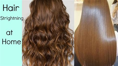 home tricks to make the hair straight from top and curly from bottom hair straightening at home without hair straightener heat