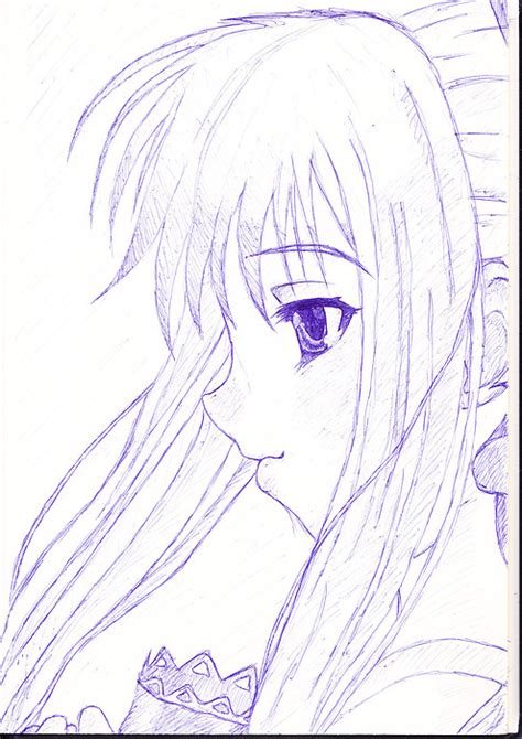 doodle draw anime anime drawing by pasquiorra on deviantart