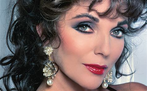 collins eye color eye makeup 1980 joan collins search joan