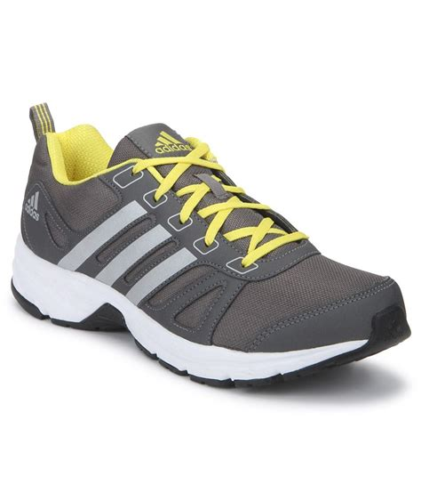adidas sport shoes for adidas adi primo 1 0 gray sports shoes buy adidas adi