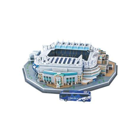 Diskon Puzzle Miniatur Stadion Stamford Bridge Chelsea puzzle 3d stadion stamford bridge darkyahracky cz