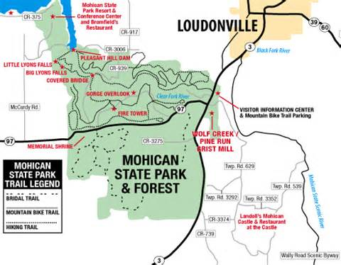 Mohican State Park Campground Map by Wolf Creek Grist Mill Join Us