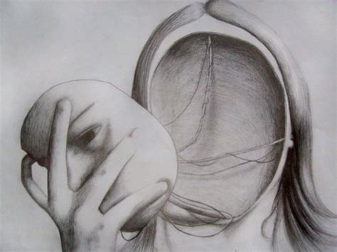 Meaning Of Blindness No Face Drawing By Dylanralph On Deviantart