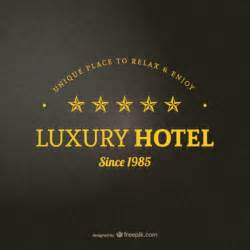 hotel logo template vector free download