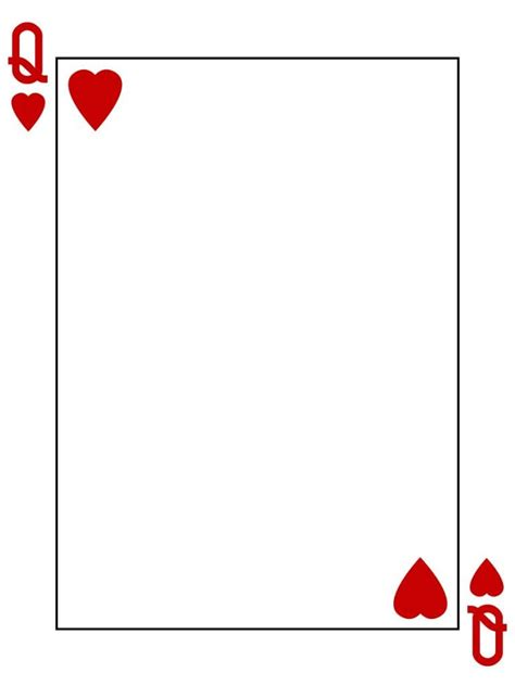 cards of hearts template 127 best cards images on cards