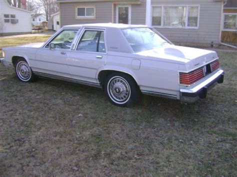 how can i learn about cars 1986 mercury grand marquis parking system sell used rare vintage 1986 ford lincoln mercury grand marquis showroom clean cruise car in
