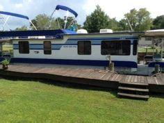 used pontoon boats ocala fl houseboat completely refit 93 yukon delta with trailer