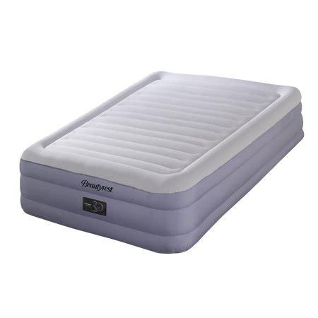 simmons beautyrest queen raised airbed mattress