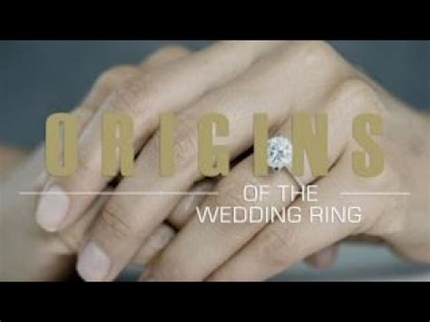 origins why does the wedding ring go on our left hand youtube
