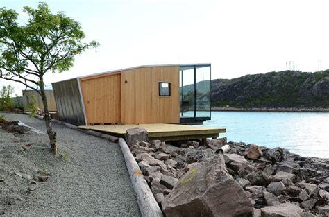 sea arch cabins gallery of manshausen island resort stinessen arkitektur 7