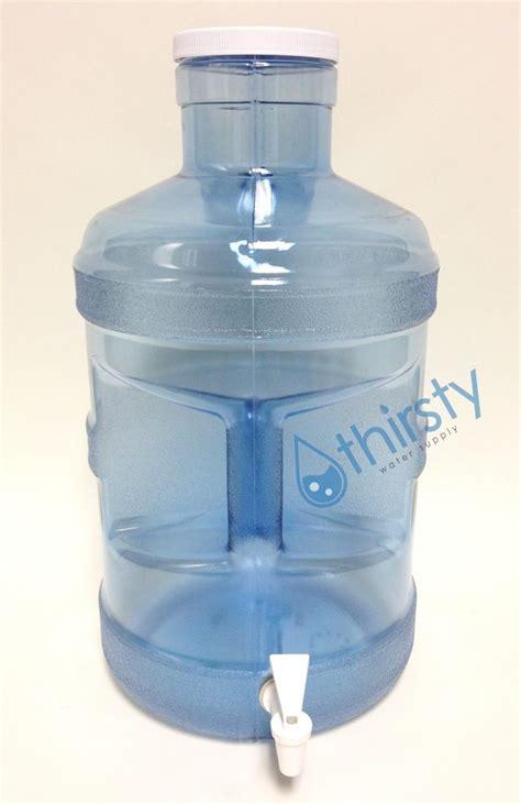 Water Jug Dispenser 2 Kran Kapasitas 13 8 Liter Delvonta Limited 5 gallon water bottle big cap polycarbonate w spigot h2o aqua jug container new ebay