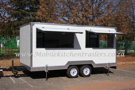 Mobile Kitchen by Mobile Kitchen Kiosk Food Vending Trailer