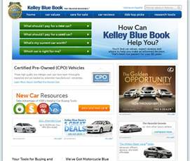 Bluebook Value Used Cars Usa Kelley Blue Book Services Used Car Values Tjs Daily
