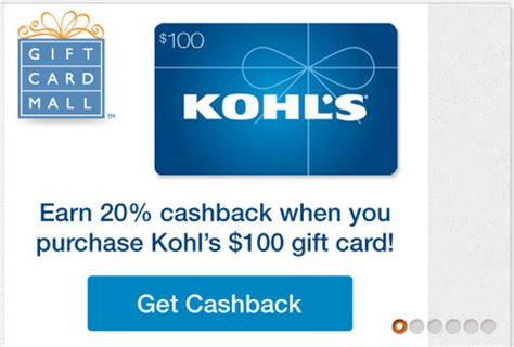 Kohls Com Check Gift Card Balance - 20 off kohl s gift cards deals we like