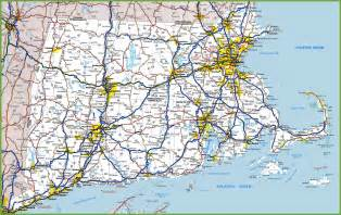Map Of Massachusetts And Rhode Island by Map Of Rhode Island Massachusetts And Connecticut
