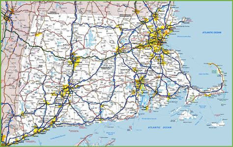 map of ri and ct map of rhode island massachusetts and connecticut