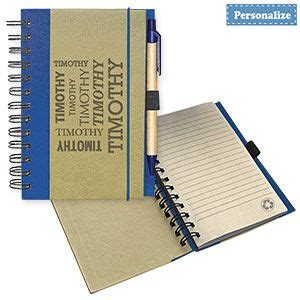 Linen Notebook With Pen 18 best images about gifts you can personalize on