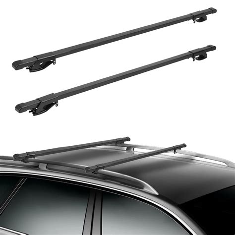 Auto Roof Rack Cross Bars by Universal 135cm Cross Bars Car Roof Rack Top Rails Luggage