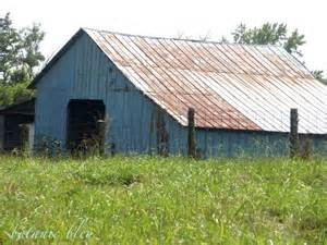 barn tin roofing botanic bleu mountain blue barn
